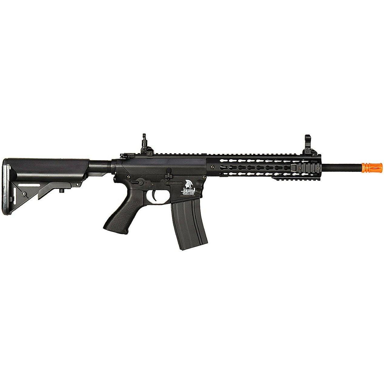 LANCER TACTICAL M4 KEYMOD AEG AUTOMATIC ELECTRIC AIRSOFT RIF