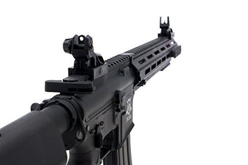 Black Mk5 Airsoft AEG Rifle .20