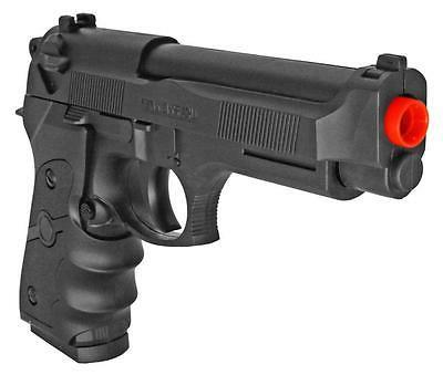 UKArms Black Powered Gun Beretta 9mm