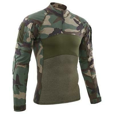 MAGCOMSEN Men Summer Airsoft Combat T-shirts C
