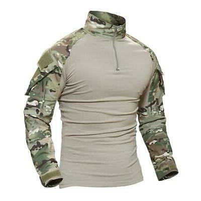 MAGCOMSEN Combat Shirt Long Tactical T-shirts US
