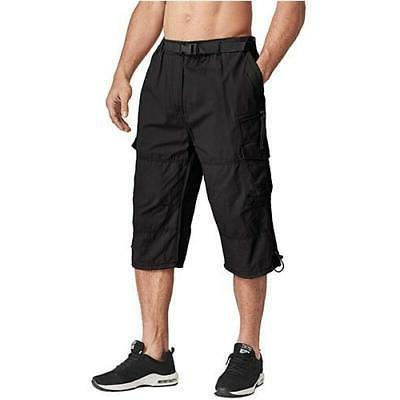 MAGCOMSEN Men Tactical Capri Pants Below
