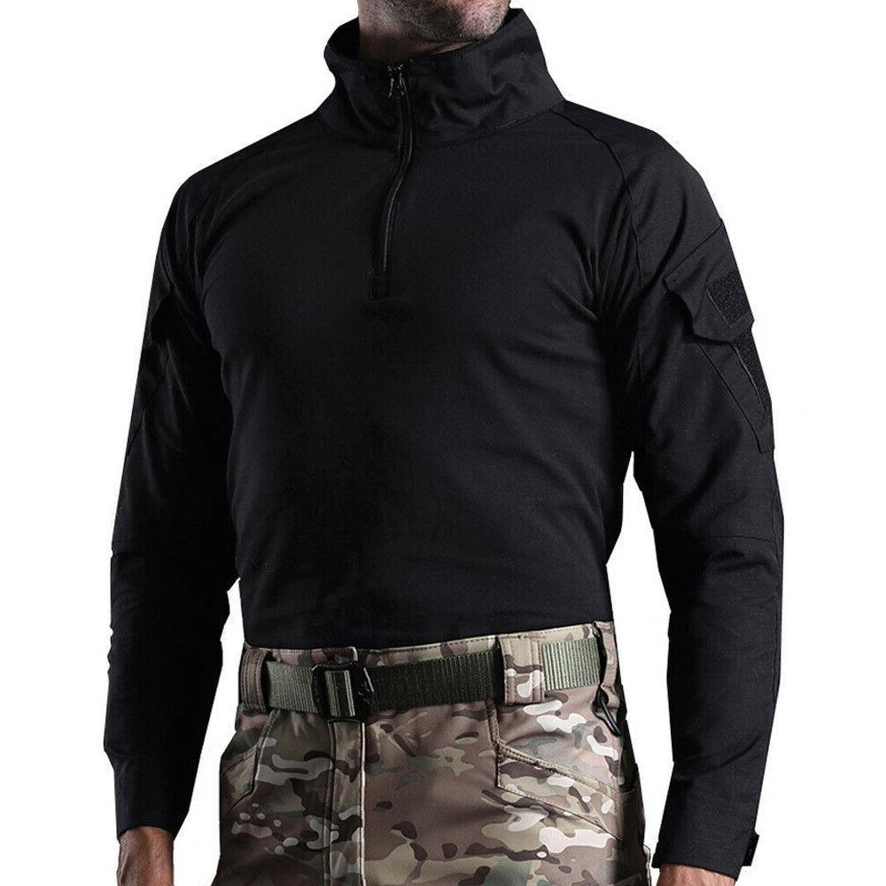 Men's Tactical Shirt Army Camo