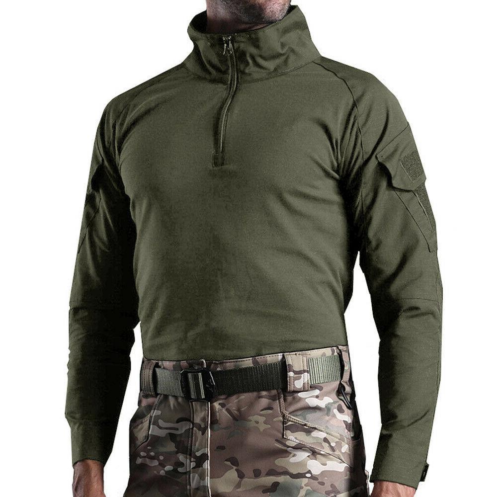 Men's Shirt Army Camo T-Shirt