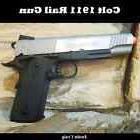 Colt Full Metal 1911 Airsoft Rail Hand Gun Pistol  CO2 Blowb