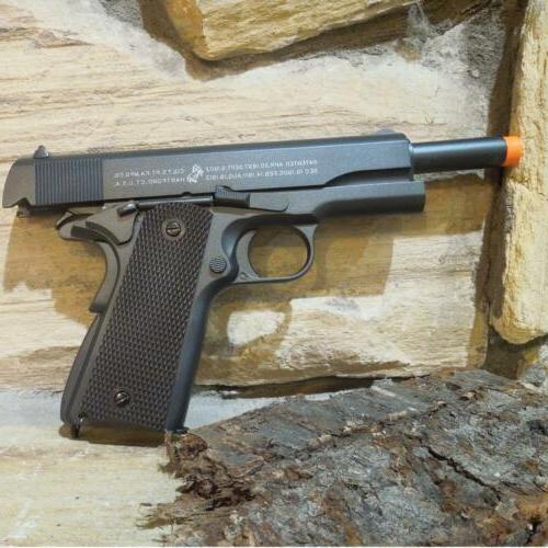 Full Metal COLT 1911 100 Anniversary CO2 Airsoft Handgun Pis