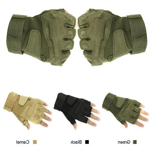 Eforstore Military Outdoor Sports Half-finger Fingerless Tac