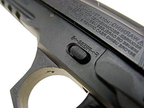 wg model-4331 sport metal co2 blowback pistol/black