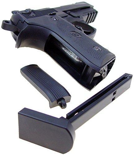 wg model-4331 sport 331 metal co2 blowback pistol/black