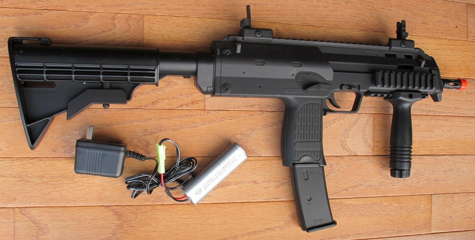 mp7 style auto electric airsoft gun w