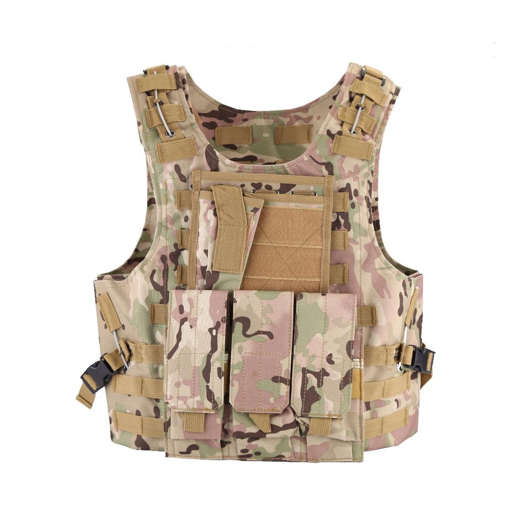 NEW Tactical Military SWAT Vests Molle Assault Plate