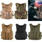 NEW Tactical Military SWAT Vests Airsoft Molle Combat Assaul