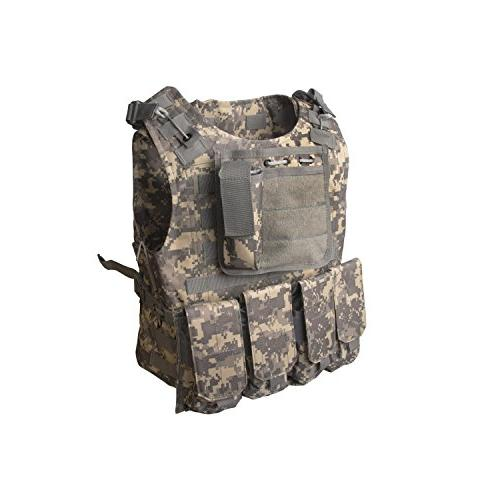 ALEKO Paintball Airsoft Chest Protector Tactical Vest Outdoo