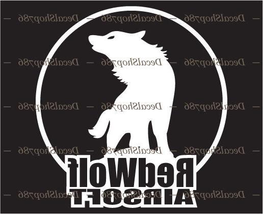 redwolf airsoft outdoor sports hunting vinyl die