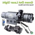 For Rifle Remote Switch 2 Mounts Tactical 532nm Green Laser