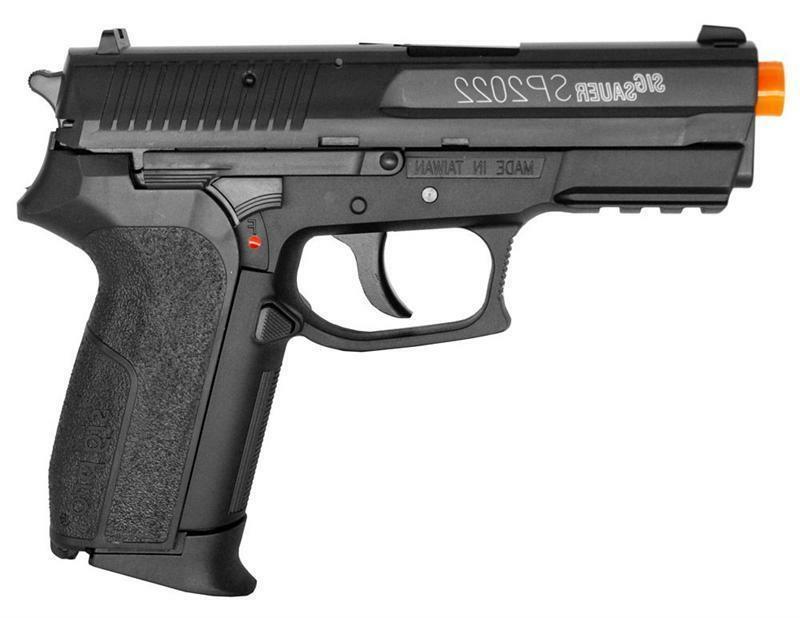 Sig Sauer Licensed SP2022 FPS-380 CO2 Airsoft Pistol COMBO D