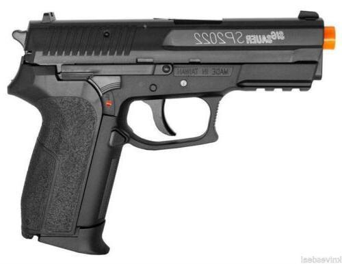 Sig Sauer Licensed SP2022 FPS-380 CO2 Airsoft Pistol