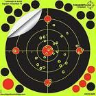 Shooting Targets 8 inch 10 Pack Bullseye Air Gun Pellets Rif