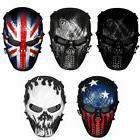 Unisex Skull Ghost Full Face Metal Mesh Eye Masks Protection