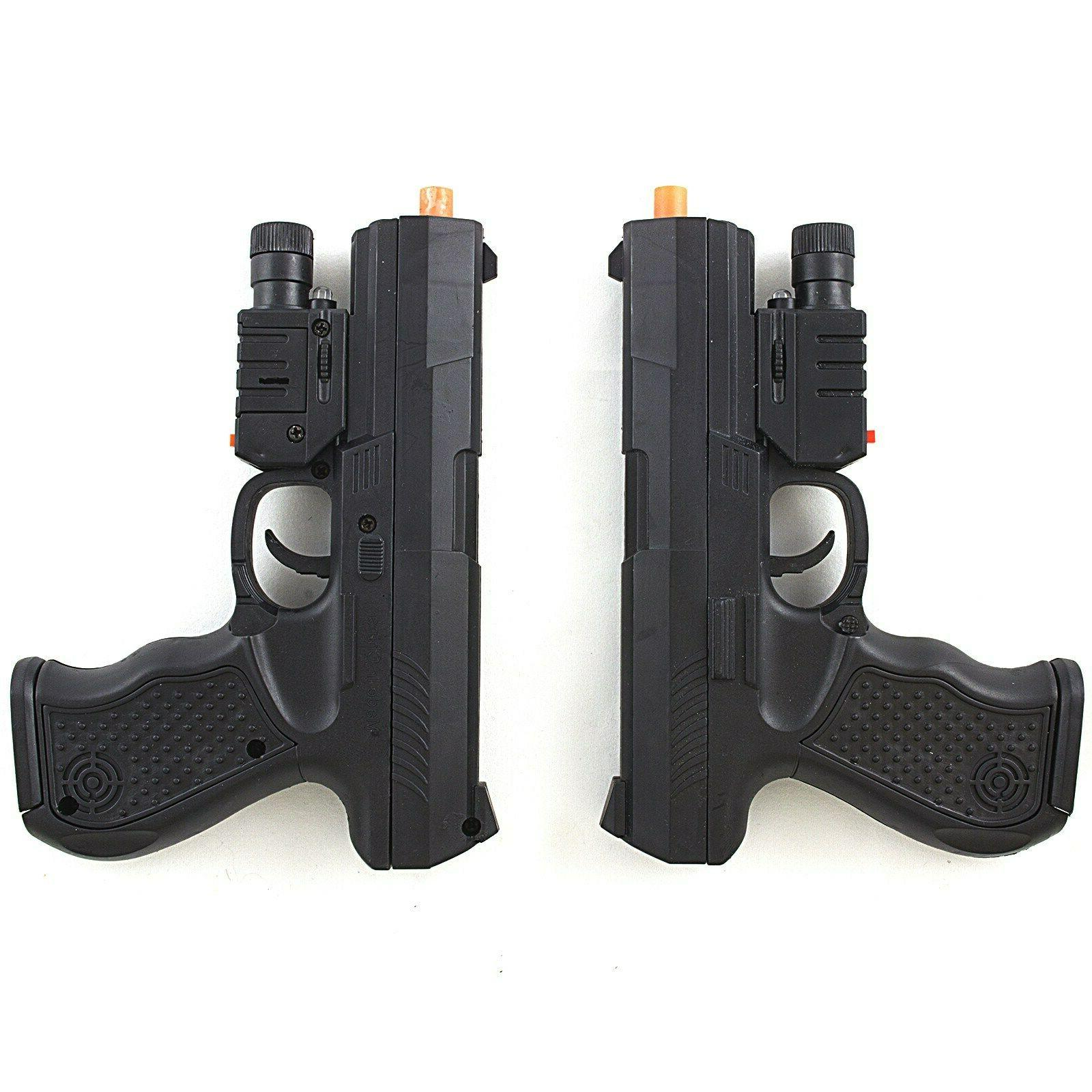 UKARMS SPRING AIRSOFT PISTOL HAND GUN w/ LASER SIGHT LED FLA