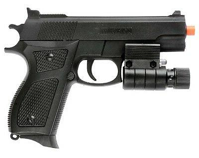 Spring Pistol Gun w Sight BBs