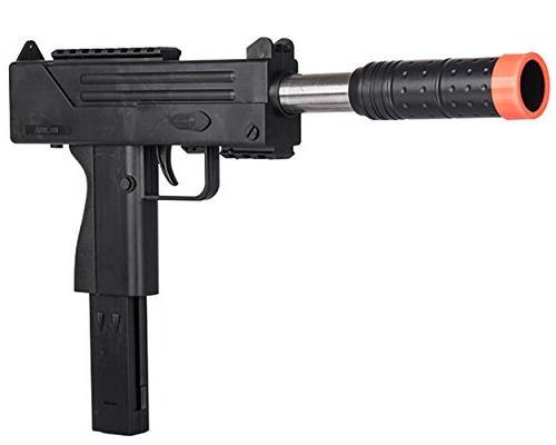 UKARMS Spring MAC UZI Airsoft Gun SMG Pistol w/ 6mm BBs + De