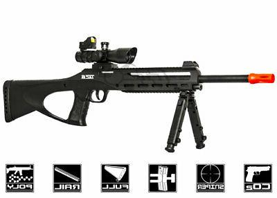 TAC6 SL CO2 AIRSOFT SNIPER RIFLE W LSR
