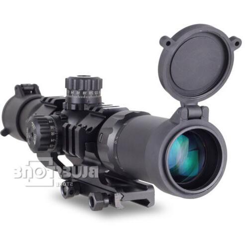 Tactical Aim Sports 1.5-4X30 Tri-illuminated Mil-dot Sight R