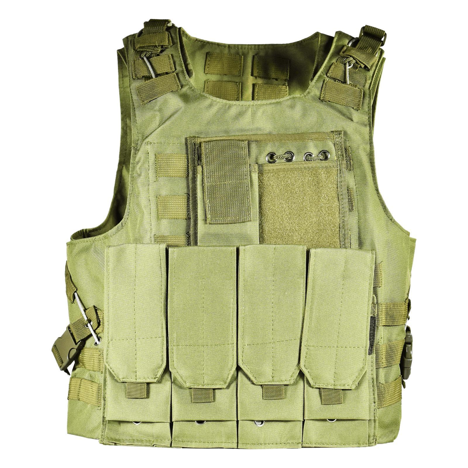 UltraGuards Paintball MOLLE Combat Play Vest