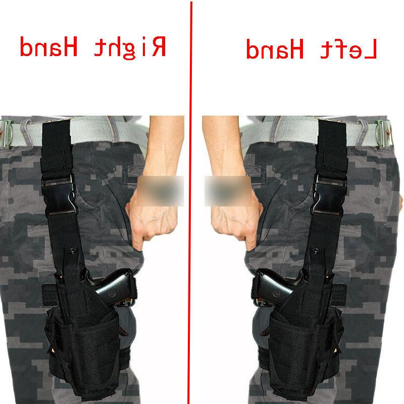 Tactical Army Airsoft Pistol Gun Drop Leg Thigh Holster Pouc