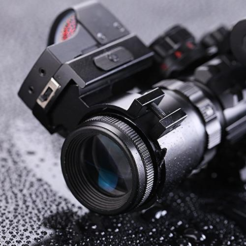 IRON JIAS Tactical Rifle Scope Red Laser Holographic Dot