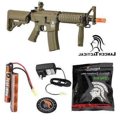 Lancer Tactical Tan Polymer Metal Gen 2 Mk18 MOD 0 AEG Field
