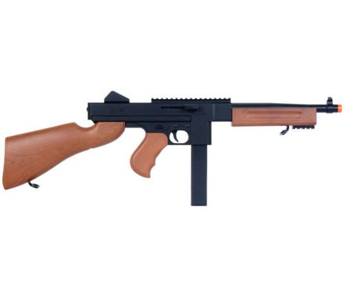 DOUBLE EAGLE THOMPSON M1A1 SPRING AIRSOFT SUB MACHINE GUN To