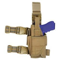 Condor Tornado Tactical Pistol Leg Pistol Holster Tan NEW TT