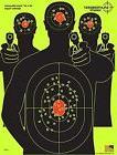 Triple Silhouette Target Shooting for Rifle& BB Gun 25 Pac