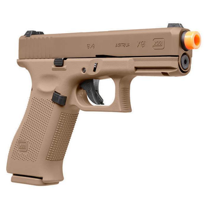 umarex licensed glock 19x gas blowback airsoft