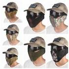 US Half Face Mask TPU Nylon Ear Protection Foldable Breathab
