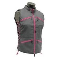 Leapers Inc. UTG Huntress Female Vest, Gray/Pink SKU: PVC-VF