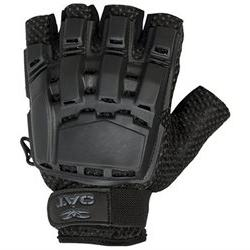 Valken V-Tac Half Finger Hard Back Paintball / Airsoft Glove