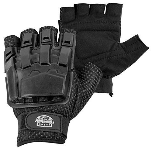 Valken Back Gloves, Black,