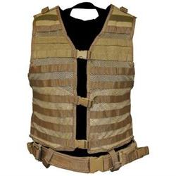 VISM by NcStar Molle/Pals Vest/Tan  CPV2915T NC STAR