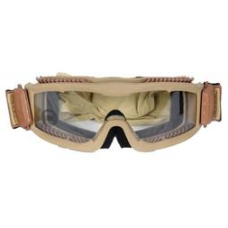 Lancer Tactical CA-221T Clear Lens Vented Safety Airsoft Gog