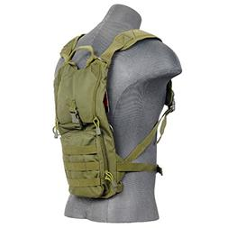 Lancer Tactical CA-321G Light Weight Hydration Pack in OD -