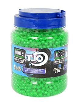Licensed Colt Airsoft BBs .12g 5000ct Bottle with Free Shipp