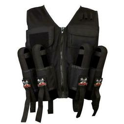 Maddog Sports Lightweight Tactical Paintball Vest with Tank