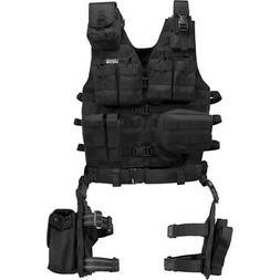 Barska Loaded Gear VX-100 Tactical Vest and Leg Platform