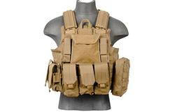 LT 303T MOLLE PALS Military Training Hunting Gaming Vest wit