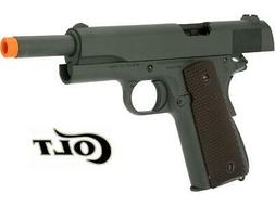 COLT M1911A1 BLOWBACK AIRSOFT GUN LICENSED/TRADEMARKED  WITH
