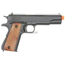 BBTac M21 Airsoft 260 FPS Metal Spring Pistol with Working H