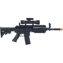 M4 A1 M16 TACTICAL SPRING AIRSOFT RIFLE GUN w/ LASER SCOPE 6
